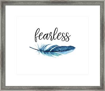 Fearless Framed Print by Jaime Friedman