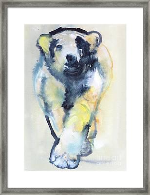 Fearless Framed Print by Mark Adlington