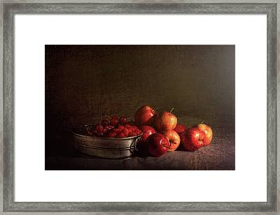 Feast Of Fruits Framed Print by Tom Mc Nemar