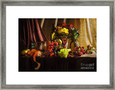 Feast Framed Print by Svetlana Sewell