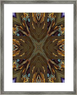 Feather Grace Framed Print by Ricky Kendall