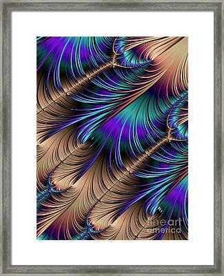 Feather Light Framed Print