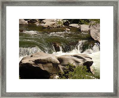 Feather River Canyon Framed Print by Dan Whittemore