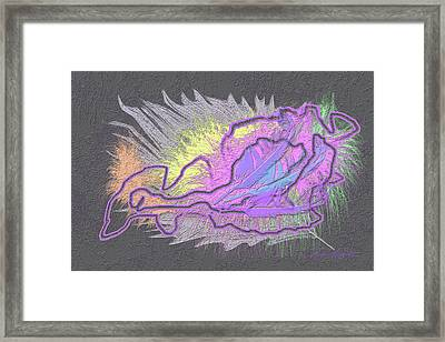 Feathered Daydreams Framed Print