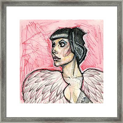 Feathered Framed Print