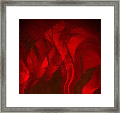 Feathers Framed Print by Eileen Shahbazian
