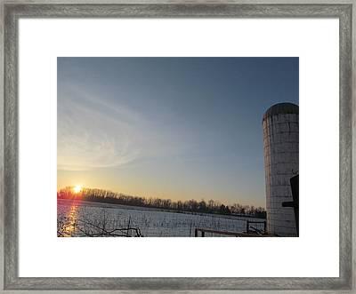 February 28 2013 Sunrise Framed Print