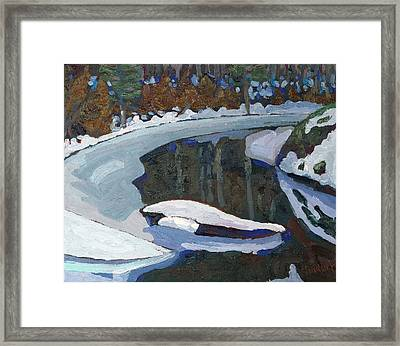 February Thaw Framed Print by Phil Chadwick
