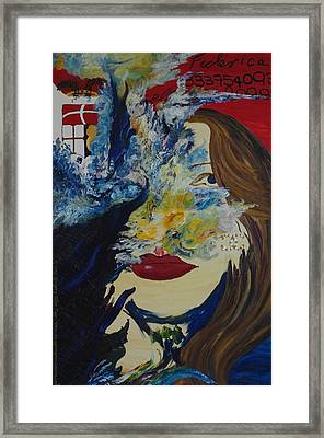 Fede The Como Girl Framed Print by Gregory Allen Page
