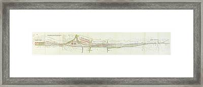 Federal And Nordostbahn Framed Print by MotionAge Designs