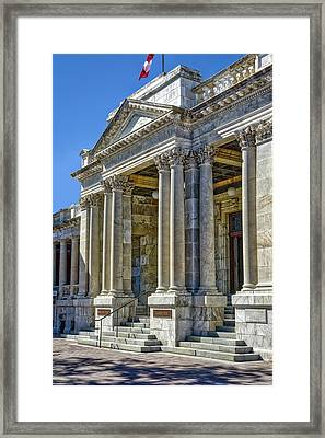 Federal Building Framed Print