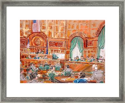 Federal Court Framed Print