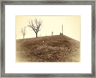 Framed Print featuring the photograph Federal Hill by Brian Wallace