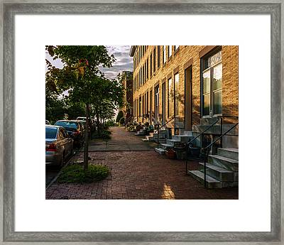 Federal Hill Steps Framed Print by Jim Archer
