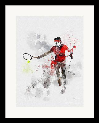 Wimbledon Mixed Media Framed Prints