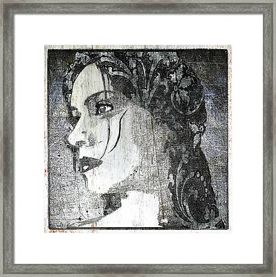 Federica Classic Silver Italy Framed Print