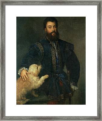 Federico II Gonzaga, I Duke Of Mantua Framed Print
