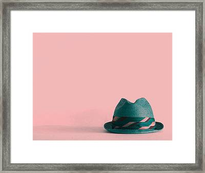 Fedora  Framed Print by Colleen VT