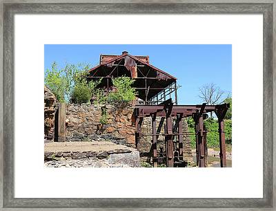 Feed Mill Framed Print by Dayton Preston