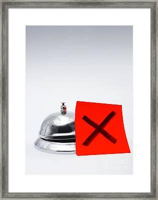 Feedback Of Bad Customer Service Framed Print by Jorgo Photography - Wall Art Gallery