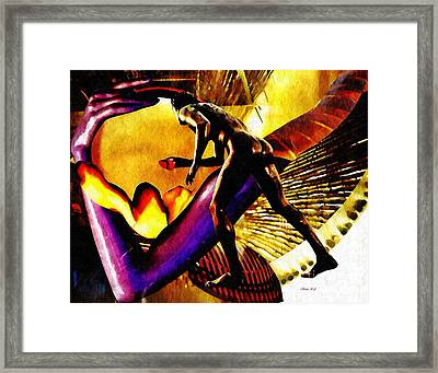 Feeding The Fire Within Framed Print