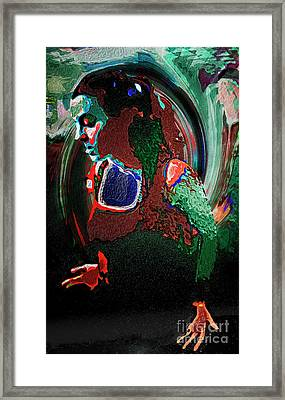 Feel It Framed Print