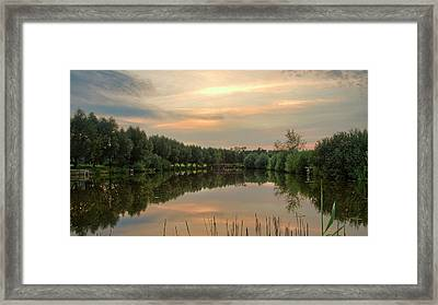 Framed Print featuring the photograph ...feel So Serene. Kolychivka, 2018. by Andriy Maykovskyi