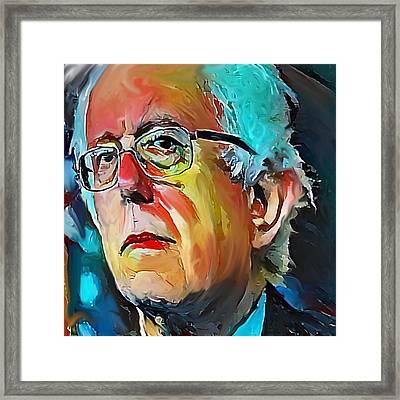 Feel The Bern Framed Print