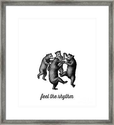 Feel The Rhythm Framed Print by Edward Fielding