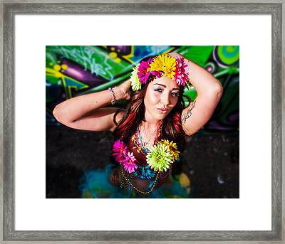 Feel The Rhythm  Framed Print
