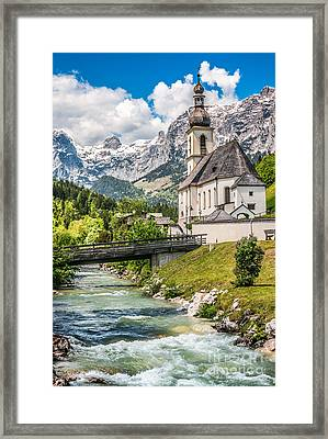 Feel The Spirits  Framed Print