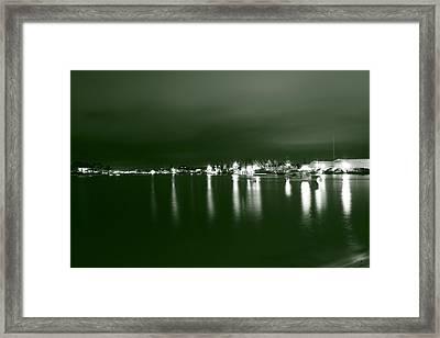 Feelin Green On The Seas Framed Print by Bradley Nichol