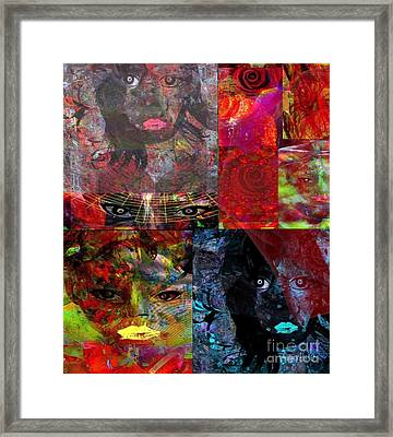 Feeling - Abstract Emotion Framed Print