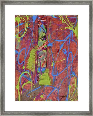 Feeling Alienated Framed Print