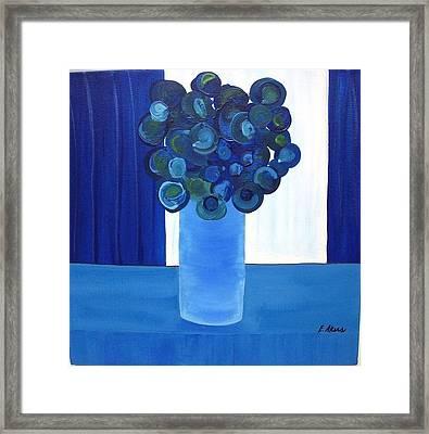 Feeling Blue Framed Print by Edmund Akers