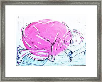 Feeling Cosy Framed Print