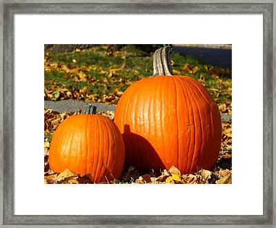 Feeling Fall Framed Print by Kyle West