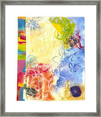 Feeling Good Framed Print by Gloria Von Sperling
