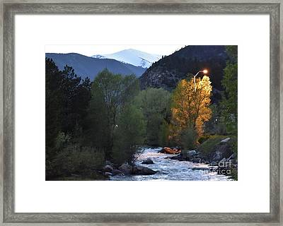 Feeling Lit Framed Print
