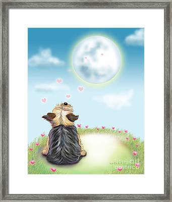 Feeling Love Framed Print by Catia Cho