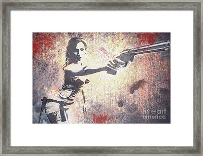 Feeling Lucky? Framed Print