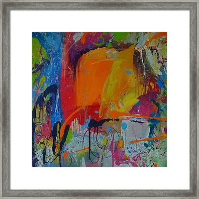 Feeling Melancholy Framed Print by Terri Einer