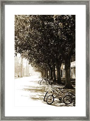 Feeling Nostalgic Framed Print by April Reppucci