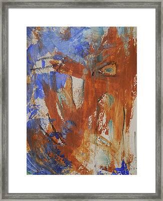 Feeling Stronger Framed Print by Karen Lillard