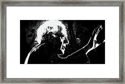 Feeling The Bern Framed Print by Brian Reaves