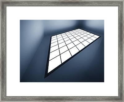 Feeling The Blue Framed Print by Gerard Jonkman