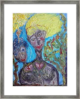 Feelings. Framed Print
