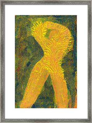 Feelings Of Good Tomorrows Framed Print by Jerry Hanks