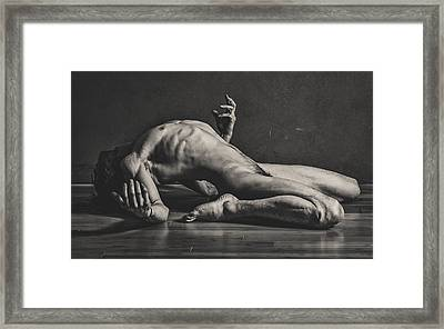 Feels Like Falling Framed Print by John Simpson