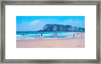 Feels Like Summer At Burleigh Heads Gold Coast Framed Print